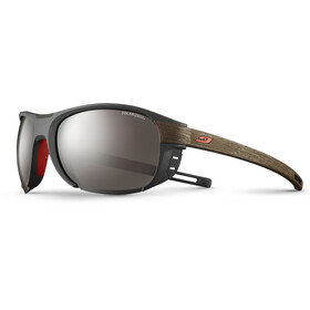 Julbo Regatta Polarized 3+ Sunglasses Dark Gray/Dark Brown-Gray Flash Silver